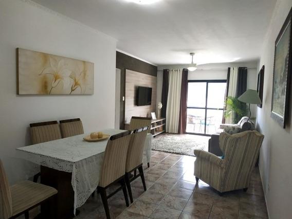 Apartamento Espaçoso Com 103 M De Área Na Praia Grande 6911w