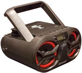 Mini Rádio Potente Original Amvox Portatil Pendrive Garantia