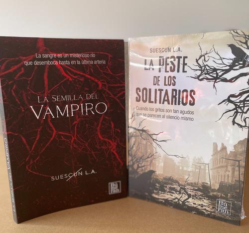 Imagen 1 de 5 de  Combo: La Semilla Del Vampiro + La Peste De Los Solitarios