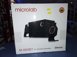 Parlante Bluetooth Microlab M-660bt