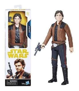 Figura Han Solo Original Star Wars Hasbro Envío Gratis