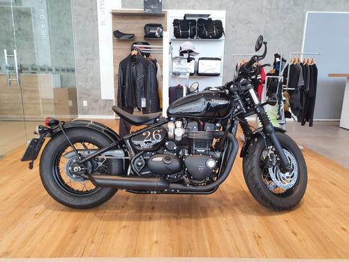 Imagem 1 de 9 de Triumph Bonneville Bobber Black 1200