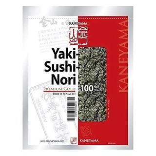Kaneyama, Yaki Sushi Nori Algas Secas, Envasado Al Vacío