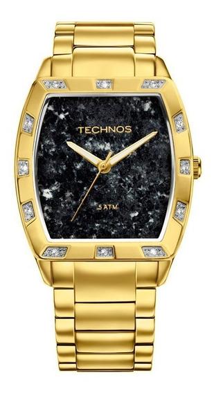 Relógio Technos Feminino Stone Collection 2033ac/4p Gabro