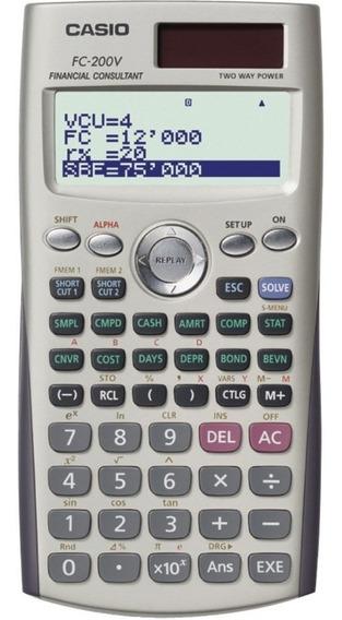 Calculadora Casio Fc-200v