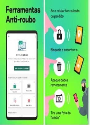 Imagem 1 de 4 de Aplicativo De Anti-roubo E Antivírus