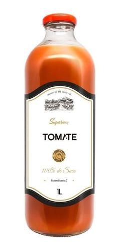 Imagem 1 de 2 de Suco Tomate Integral 1l - Superbom