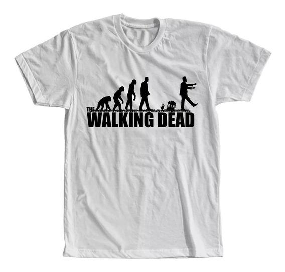 ratón Altitud mayor  Camiseta The Walking Dead | MercadoLivre.com.br