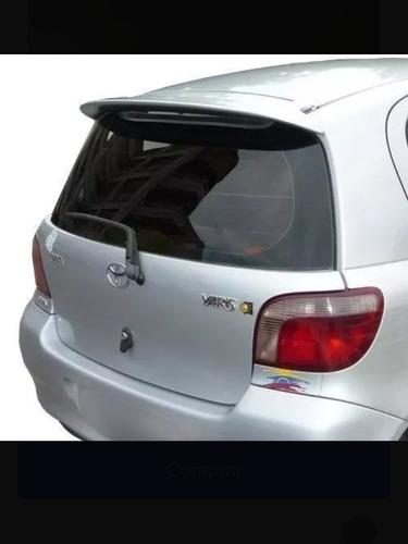Spoiler Toyota Yaris Nuevo En Fibra De Vidrio