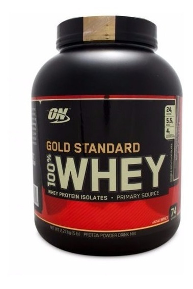 Proteina On Gold Standard 100% Whey 5 Lbs (2.26 Kg) Todos Los Sabores