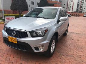 Camioneta Ssangyong Actyon G23d Plata Modelo 2015 Automatica