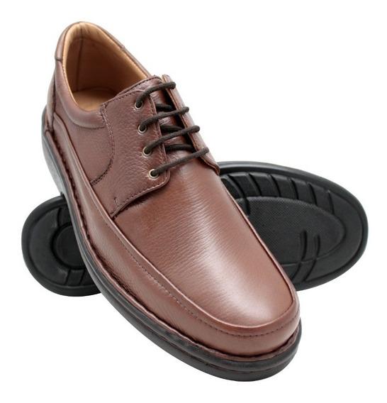 Sapato Relax Ortopédico Calçado Diabético Promoção +carteira