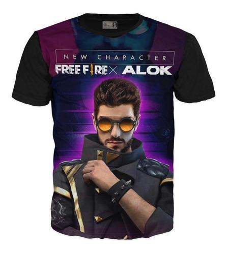 Camiseta Free Fire Gamer Booyah Xl