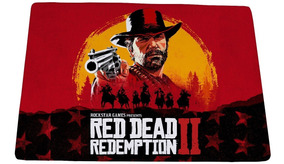 Mouse Pad Gamer Red Dead Redemption 2 Mod 02 - 25x35cm