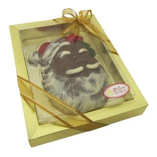 Caixa Rosto Do Papai Noel Chocolate Médio 250g