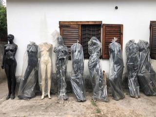 Maniquí De Fibra (set X9)