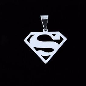 Pingente Em Prata 925 Superman