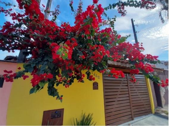 Casa Com Lindas Plantas No Tupy Em Itanhaém Litoral Sul Sp