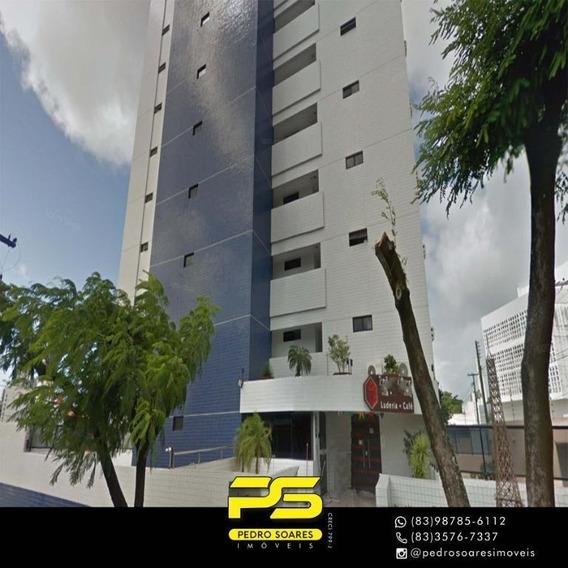 Flat Com 1 Dormitório À Venda, 50 M² Por R$ 200.000 - Miramar - João Pessoa/pb - Fl0094