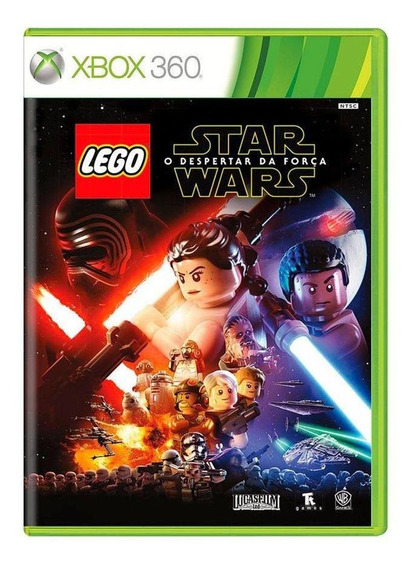 Lego Star Wars O Despertar Da Força Xbox 360 Mídia Física