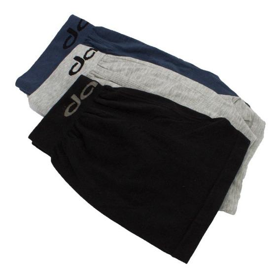 Bóxer Davor Underwear Pack X3 - Liso Algodón / Seamless