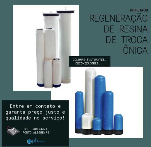 Regeneração De Resina De Troca Iônica