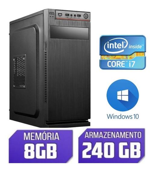 Cpu Nova Ram 8gb Core I7 Promoção Não Perca