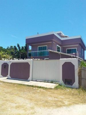 Triplex Para Locação Em Rio Das Ostras, Jardim Bela Vista, 4 Dormitórios, 4 Suítes, 6 Banheiros, 2 Vagas - Amc2358