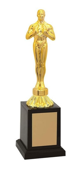 Troféu De Oscar-vitória Osc2800br 25,5 / 22,5 / 20,5cm