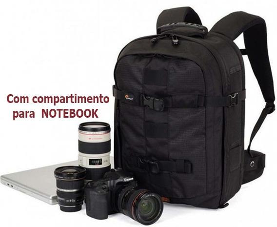Mochila Para Câmera Notebook Lowepro Pro Runner 350 Aw