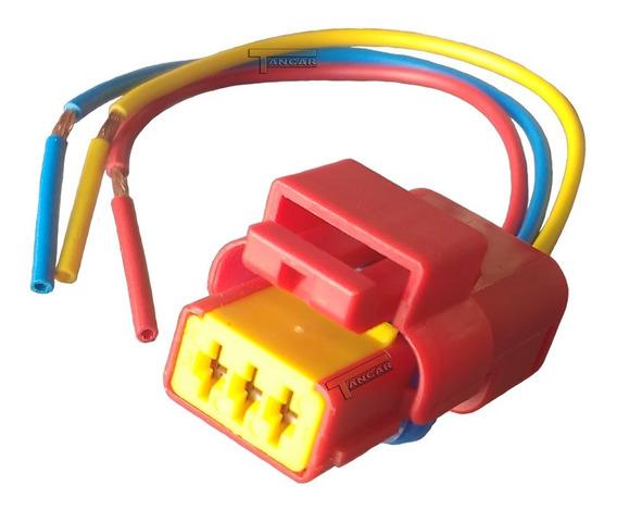 Conector Chicote Plug Cebolinha De Ré Logan Sandero Duster