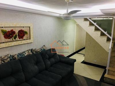 Sobrado Com 3 Dormitórios À Venda Por R$ 490.000 - Vila Carmosina - São Paulo/sp - So0109