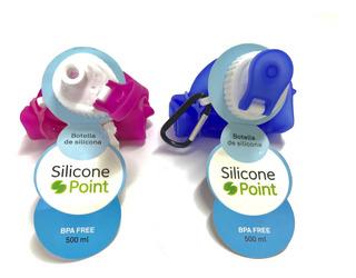 Botella De Silicona Flexible 500ml