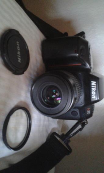 Cámara Nikon N70: Combo: Lente+flash Externo+filtro Úv+bolso