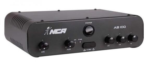 Amplificador Potência Nca Sa100 R4 100wrms Frete Gratis!