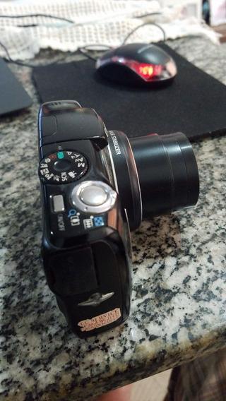 Máquina Canon Powershot Sx 120 Is Semi Profissional Usada