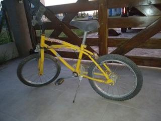 Bicicleta Niño/niña Rodado 16 Amarilla Descripción