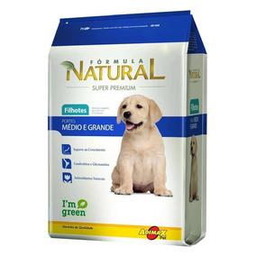 Ração Formula Natural Filhote Cães Medios E Grandes 20kg