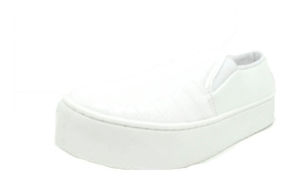 Sapatos Femininos Slip On Slipper Croco Sola Alta Dani K