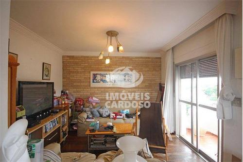 Imagem 1 de 22 de Apartamento Com 3 Dormitórios À Venda, 170 M² Por R$ 1.695.000 - Vila Madalena - São Paulo/sp - Ap18895