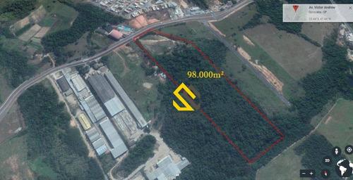 Imagem 1 de 1 de Área À Venda, 98000 M² Por R$ 12.000.000,00 - Zona Industrial - Sorocaba/sp - Ar0022