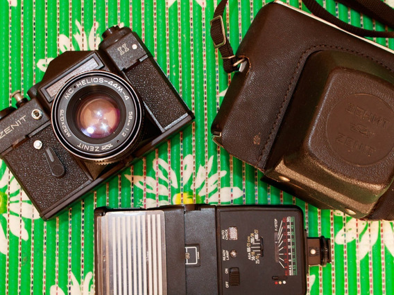 Câmera Zenit Ii + Acessórios