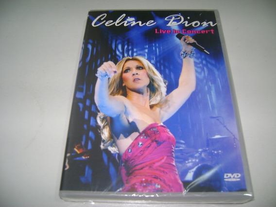 Dvd Musical Celine Dion Live In Concert ! Original !