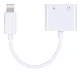 Lightning A 3.5mm Adaptador Audio Cable Carga iPhone 7 8 X