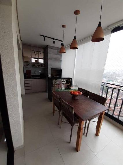 Apartamento Com 3 Dormitórios À Venda, 130 M² Por R$ 795.000,00 - Vila São João - Caçapava/sp - Ap3913