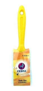 Brocha Práctica Cebra Amarilla 1