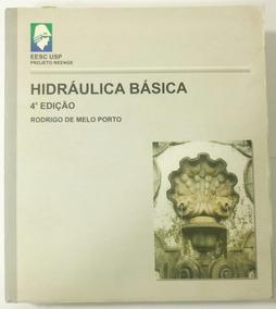 Dois Livros Hidráulica Basica 3 E 4°edição
