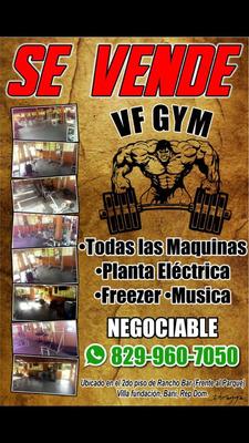 Vendo Gym Completó