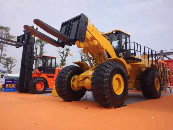 Máquina Carregadeira Empilhadeira Para Bloco Pedra Granito