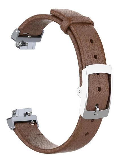 Pulseira De Couro Watchband Para Fitbit Inspire/inspire Hr